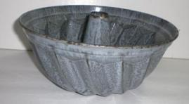 "early 1900's ""turk's head"" pan"