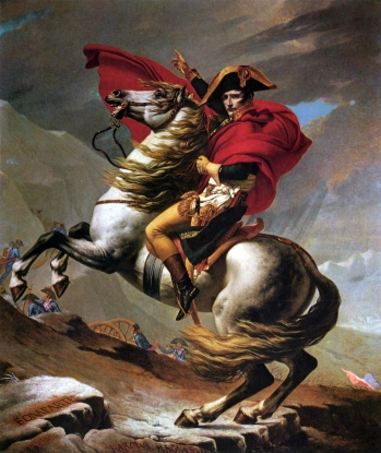 Jacques-Louis David (1748-1825)  Napoleon Crossing the Alps   Kunsthistorisches Museum